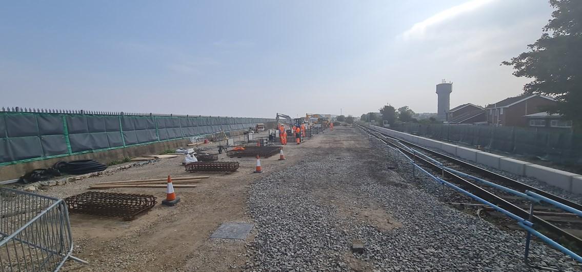 Network Rail prepares to install new accessible footbridge at Suggitt's Lane: Network Rail prepares to install new accessible footbridge at Suggitt's Lane