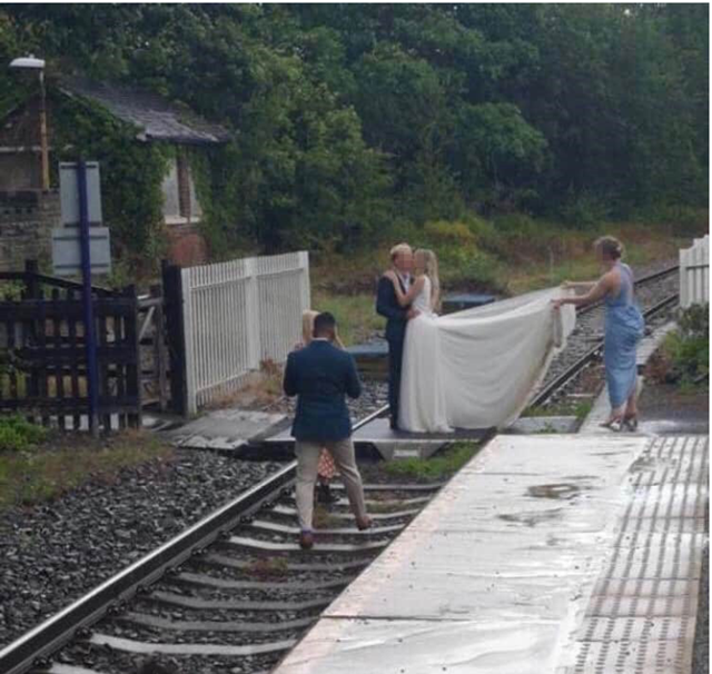 Rail safety warning issued as 2020 revealed to be worse summer in five years for trespass: Wedding trespass summer 2020