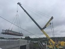 23 July Bridge in the air