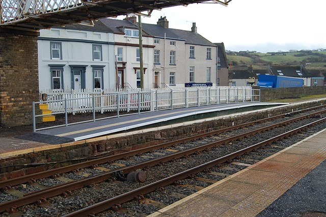 ST ALBANS ABBEY RAIL USERS GET THE HUMP: The first Easier Access Area at Harrington, Cumbria