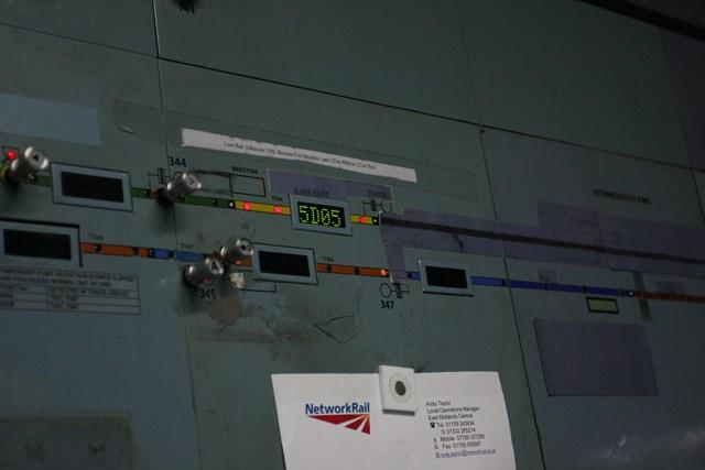 Nottingham resignalling: Trent Power Signal Box is switched out: Nottingham resignalling: Trent Power Signal Box is switched out