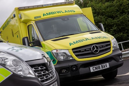 Ambulance front on