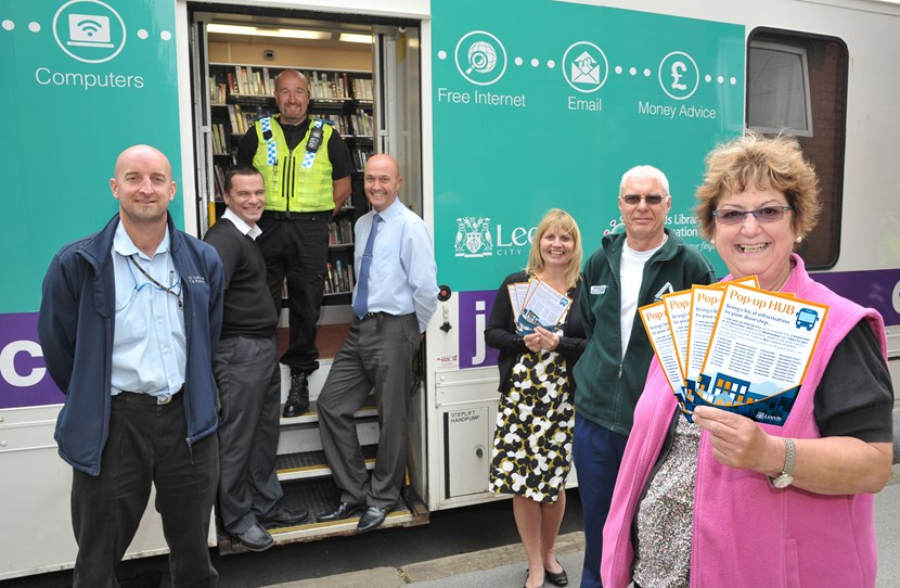 New pop-up HUB support service launched in Holbeck: hubservice1.jpg