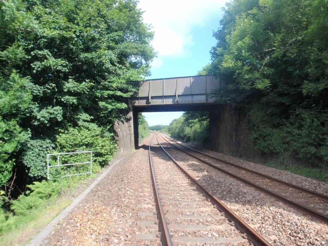 Saveock Road Bridge before upgrade