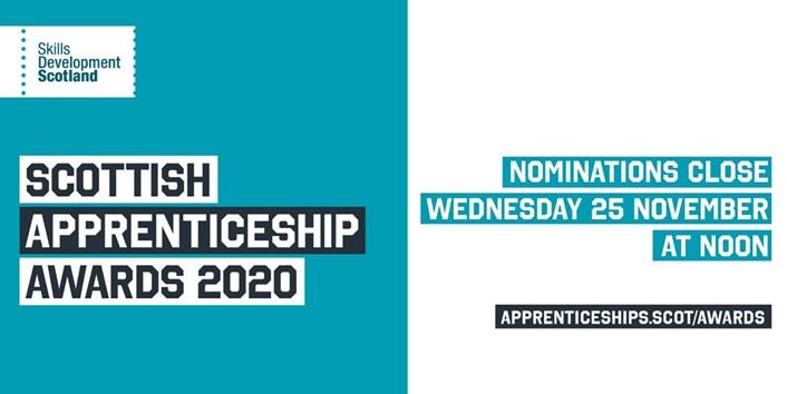 Scottish Apprenticeship Awards 2020 (image)