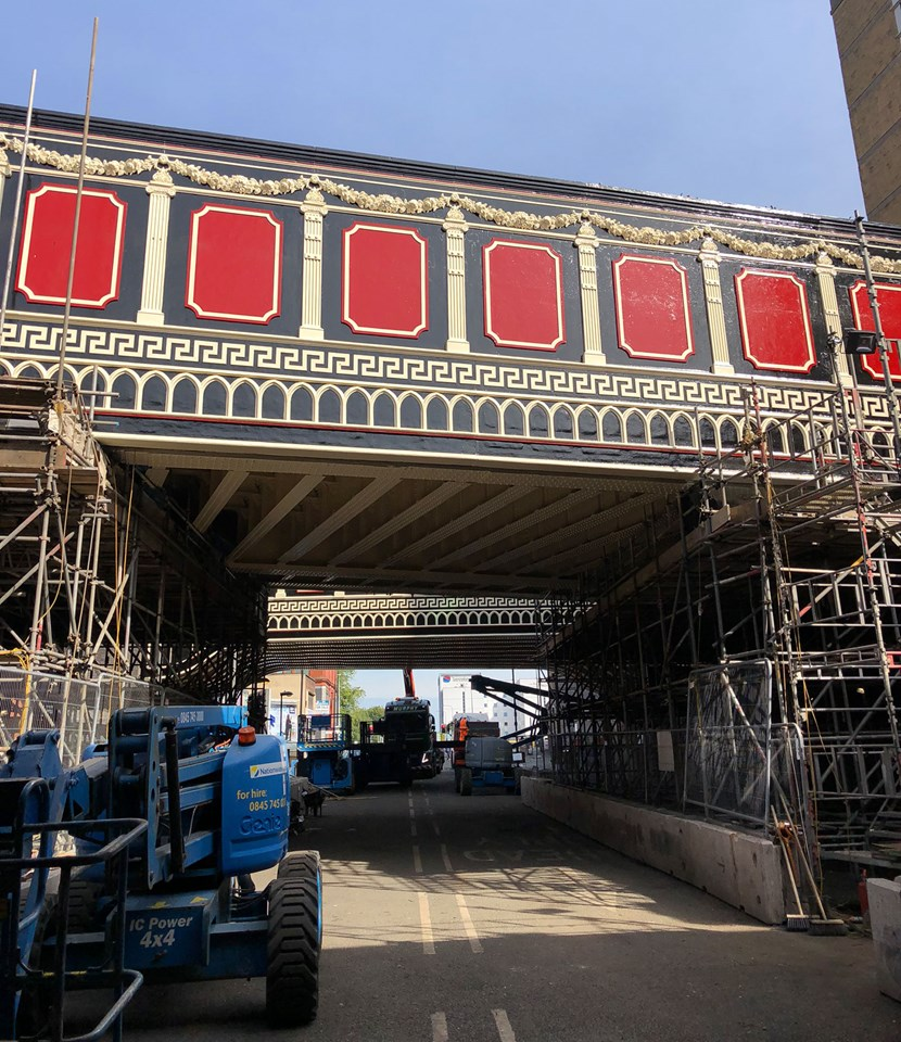 Final road closure needed for Manchester Victorian railway bridges makeover: Great Ducie Street bridges revitalised