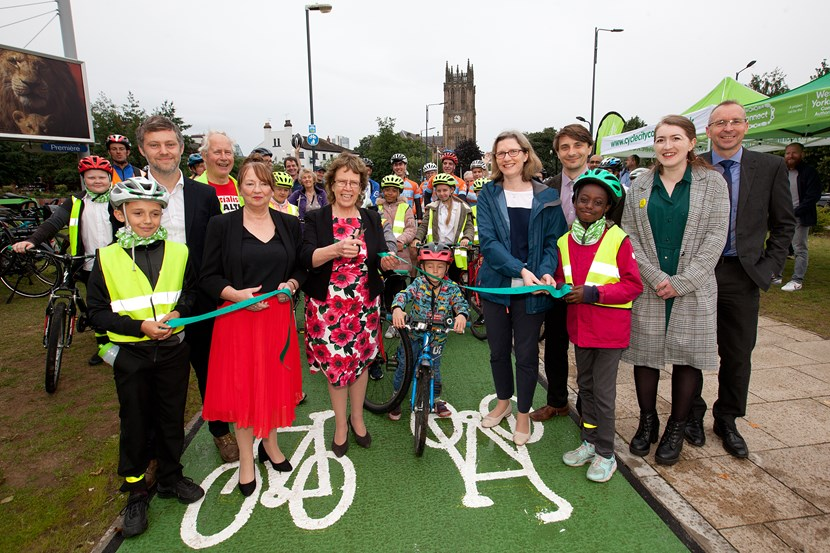 Completed construction of new bus and cycling lane on York Street: yorkstreetprphoto.jpg