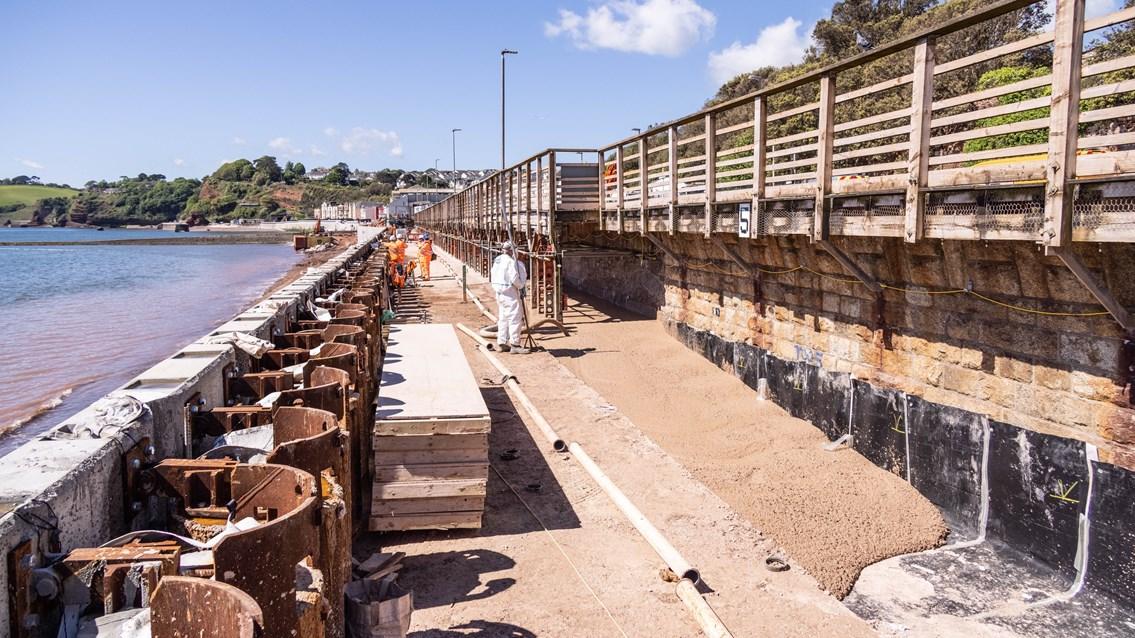 Low-Carbon Concrete Turns Dawlish Sea Wall a Greener Shade of Grey: DSDW 06-04 G-067 web