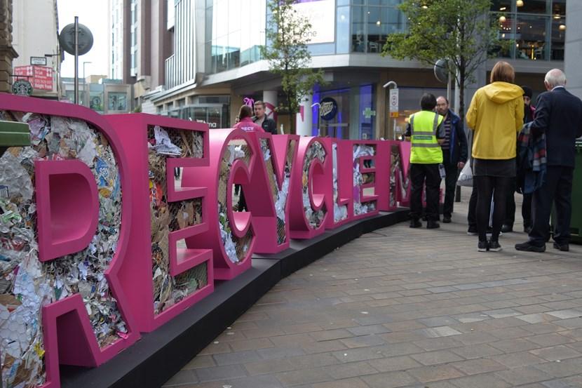 Art installation raises awareness of paper plea: dsc-0897.jpg