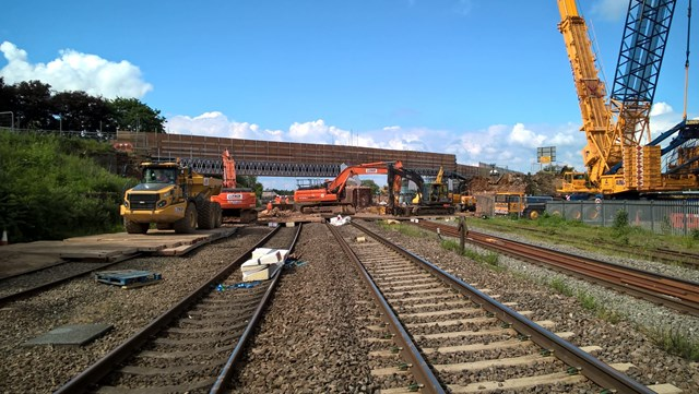 Network Rail reaches major milestone in railway upgrade in Northamptonshire: Network Rail reaches major milestone in railway upgrade in Northamptonshire