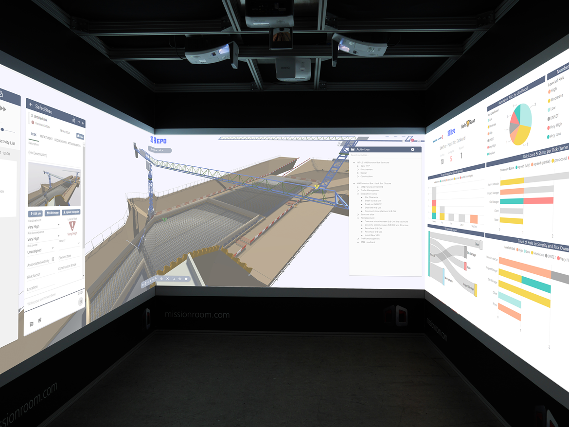 Worksite safety on HS2 set to be boosted by immersive 4D technology: HS2 PR Image Cube