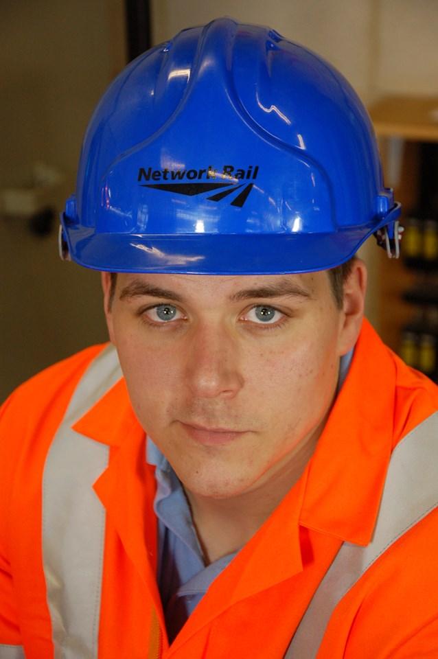 Dan Tinsley, Network Rail apprentice, Doncaster
