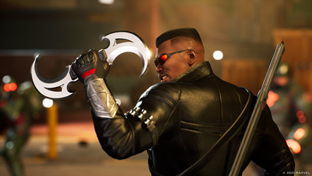 Marvel s Midnight Suns - Blade - Glaive Catch