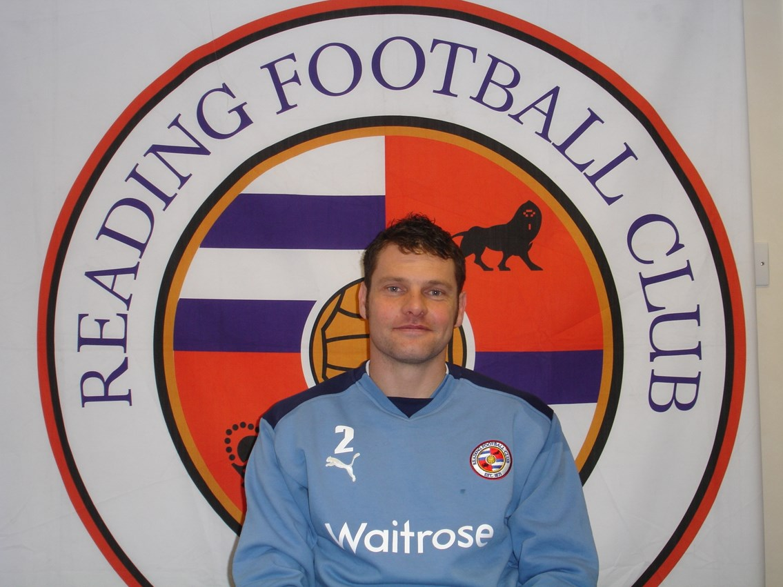 Reading FC's Captain, Graeme Murty 02: Reading FC's Captain, Graeme Murty 02