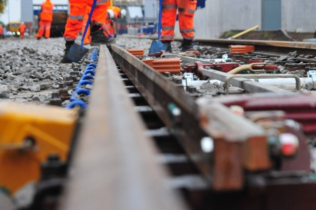 Check before you travel ahead of railway upgrade work this Christmas: Work ongoing as part of the upgrade to the line at Bromsgrove