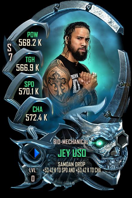 WWESC S7 Jey Uso Bio-Mechanical