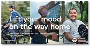TfL Image - LIft your mood on the way home