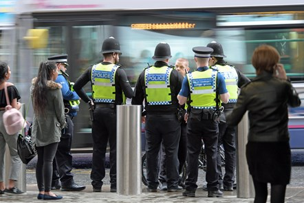 BTP officers in Manchester