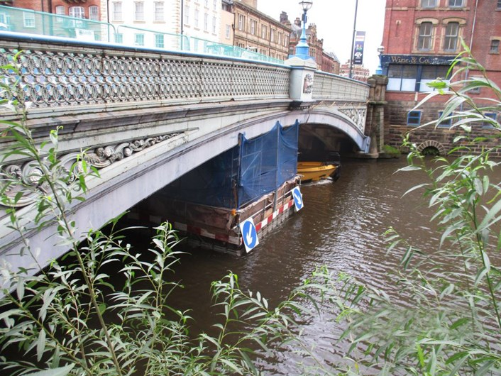 Historic Leeds Bridge to reopen in the new year: leedsbridgefromtheriverside-785628.jpg