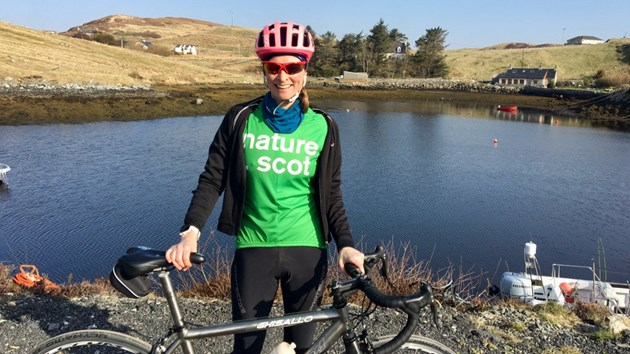 Scottish Natural Heritage CEO to Cycle through West Scotland: Dalc2wzX0AALoMl