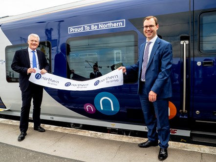 Naming New Train Doncaster Leeds