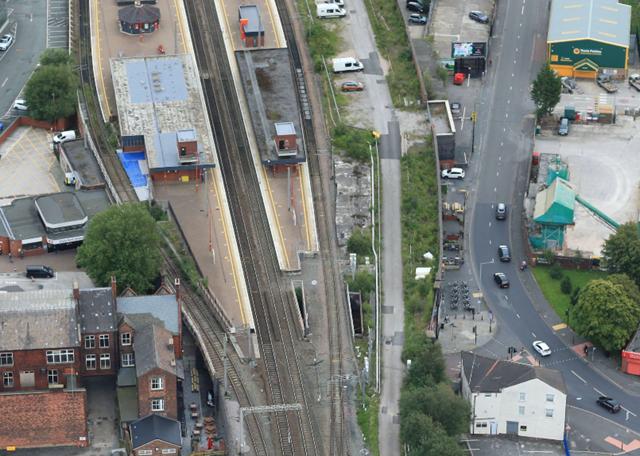 Wigan North Western lifts aerial
