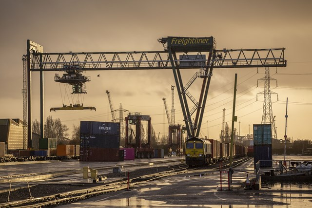 Major boost for freight by rail as Southampton upgrade is completed: wideshot-min