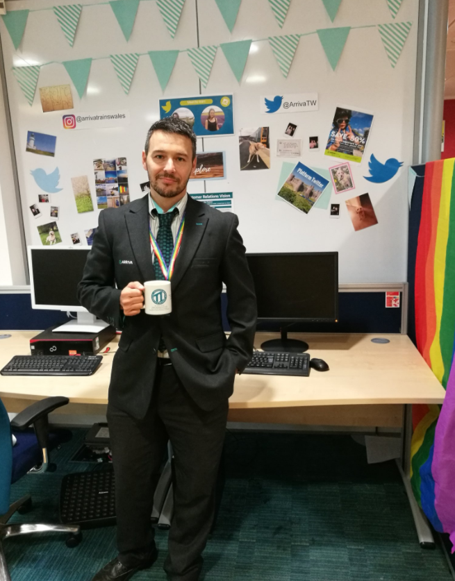 Arriva Trains Wales driver, Nic Davies, hosts successful Twitter takeover: Nic Davies-2