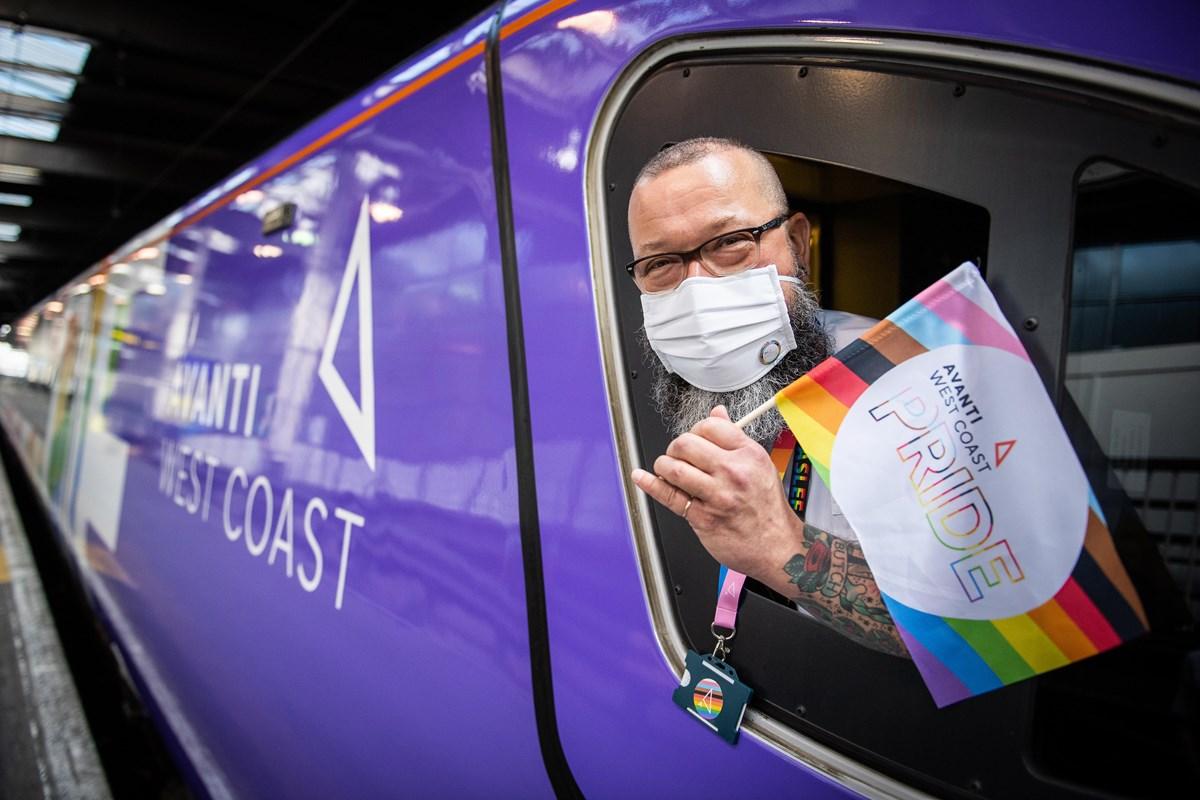 Avanti West Coast Pride Train 8