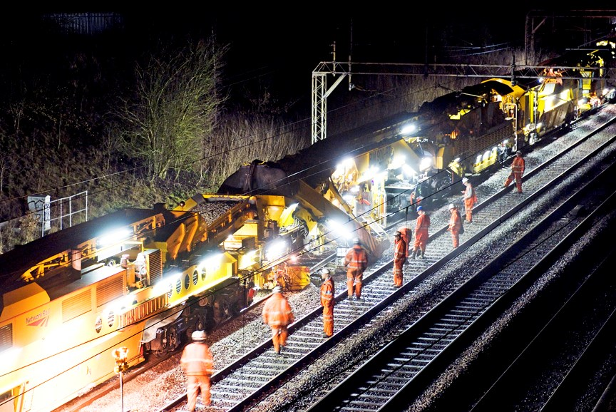 Strategic new High Output warehouse set to make £1.6m in cost savings: Track Renewal System 4 in action on the West Coast main line