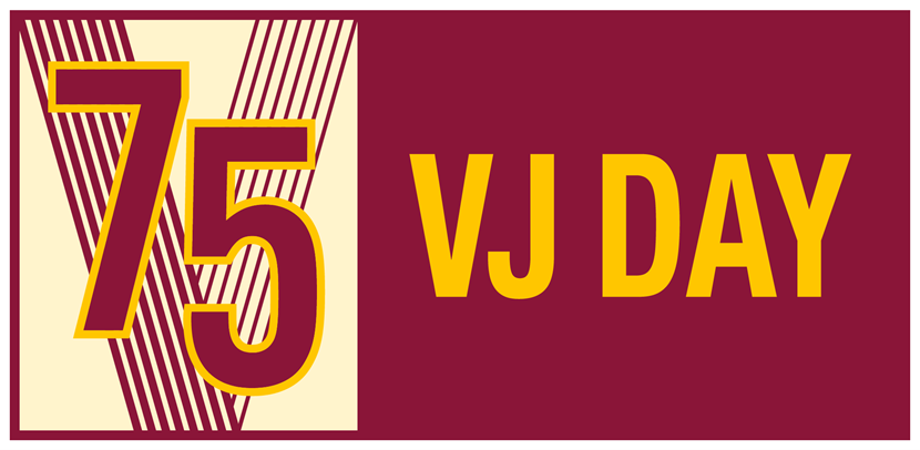 Residents across the city urged to play their part in the 75th anniversary of VJ Day from home.: vj-day75 rgb landscape