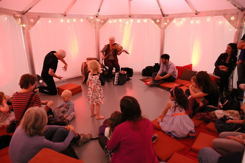 Popular festival set to takeover city libraries later this week: storytent.jpg