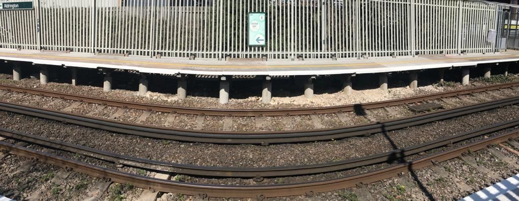 Rail passengers benefit from new platforms at Aldrington station in East Sussex thanks to significant investment: Aldrington station - Hove