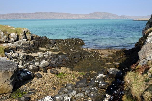 New reports shows Gaelic reverence for nature: Glaic nam Muirsgein, Eriskay - the defile of the razor fish. Credit Lorne Gill-NatureScot