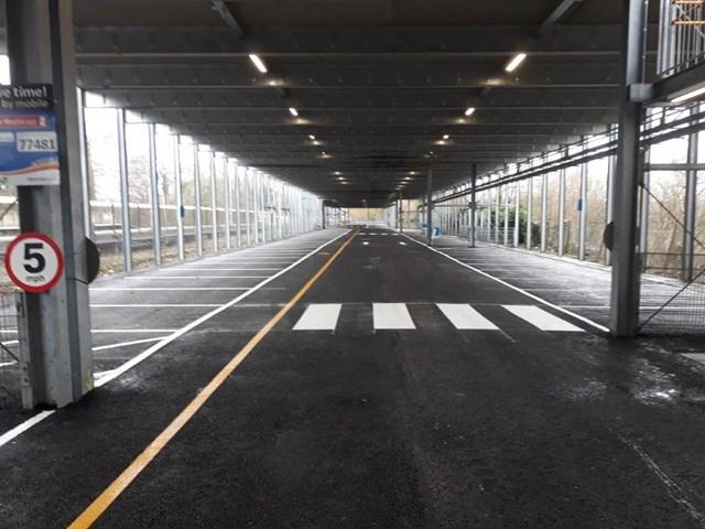 Over 1,000 tonnes of tarmac laid to improve Fleet station car park: Fleet station car park - FEB 2020