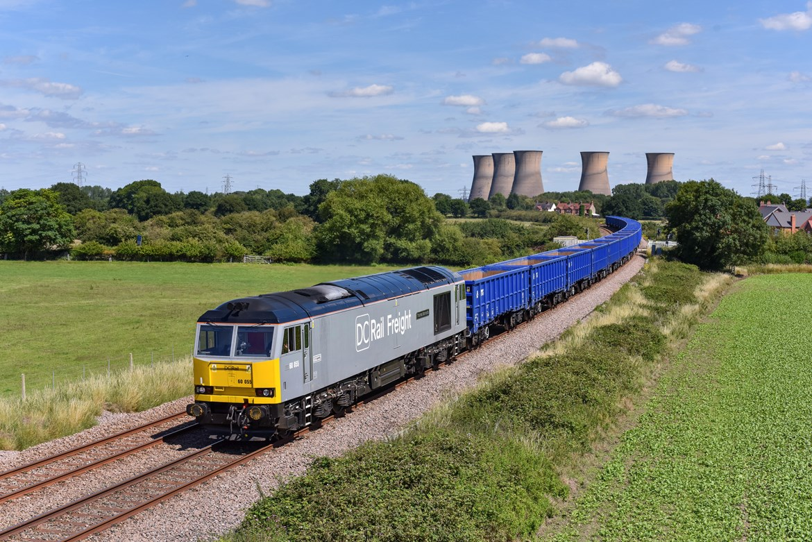New video shows how HS2 will help fight carbon emissions by increasing space for rail freight: DC Rail Freight East Derby Jul 2020