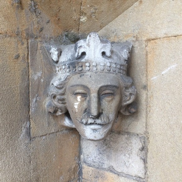 Vote for Carved Head to Commemorate Abbey Anniversary: King Henry 1