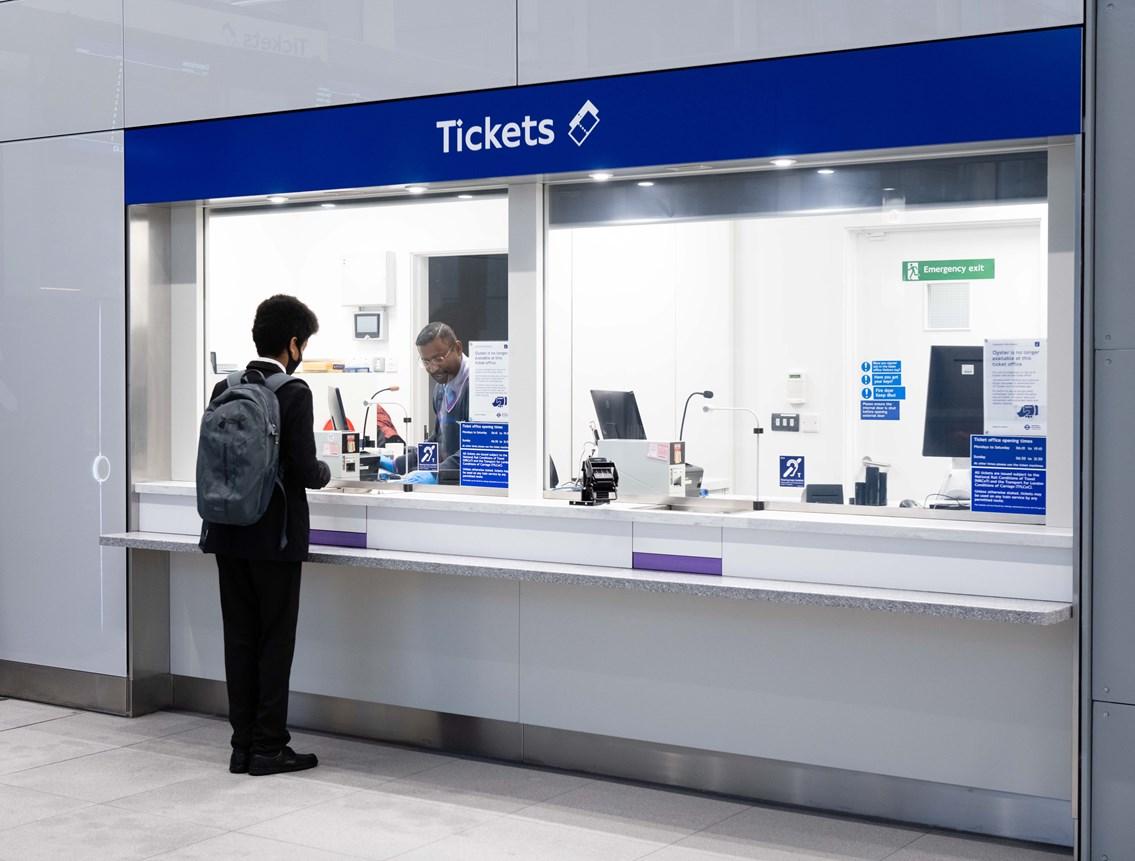 Hayes & Harlington station ticket hall