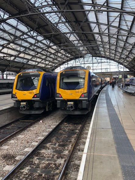 New trains at Lime Street 2