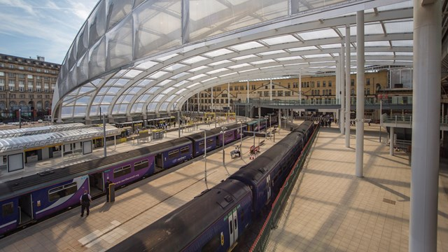 Investment to improve Victorian drainage at Manchester Victoria station: Manchester Victoria roof