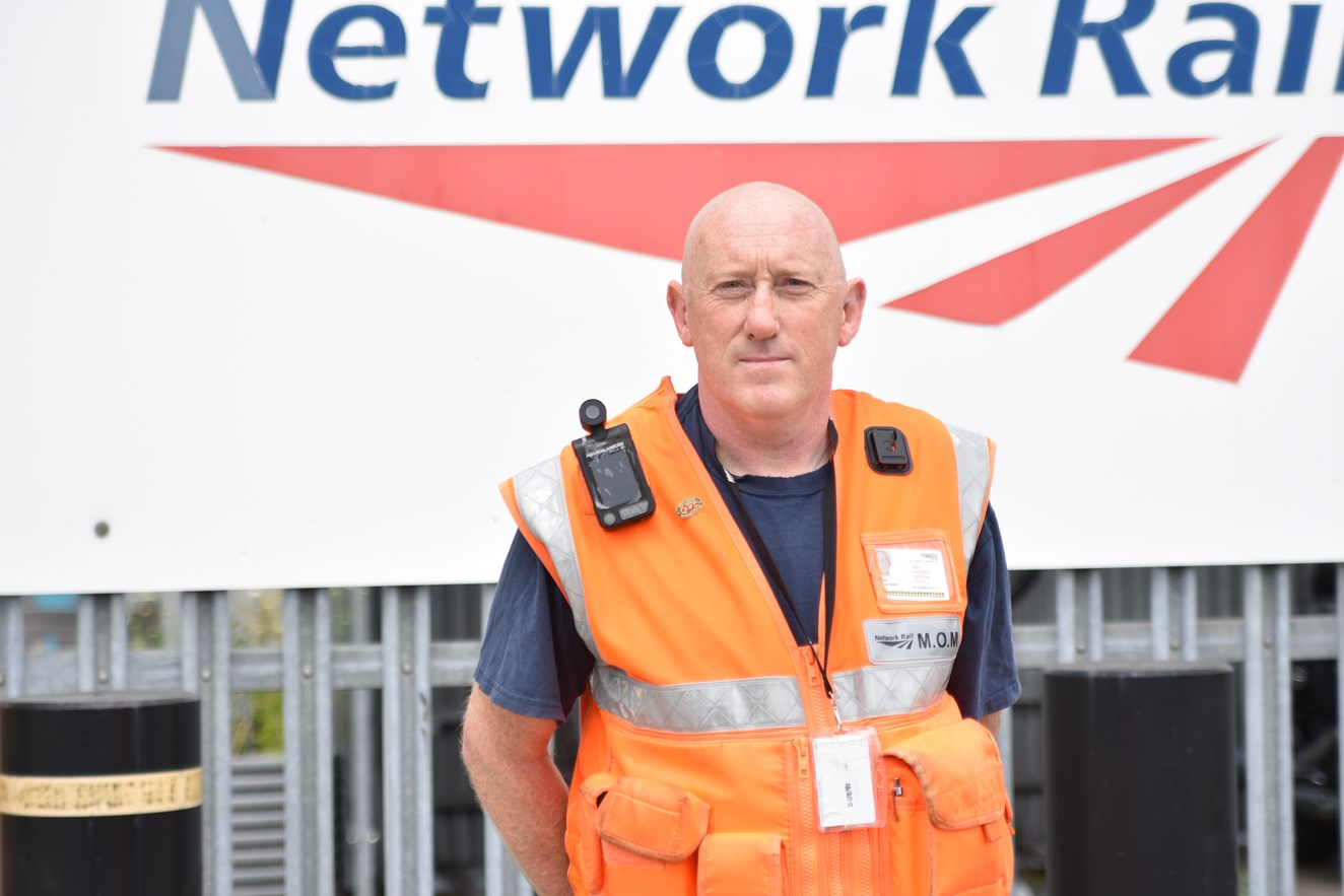 Life-saving rail interventions up 84% in one year on the south west railway: Michael Budd, Mobile Operations Manager at Network Rail's Wessex Route (2)