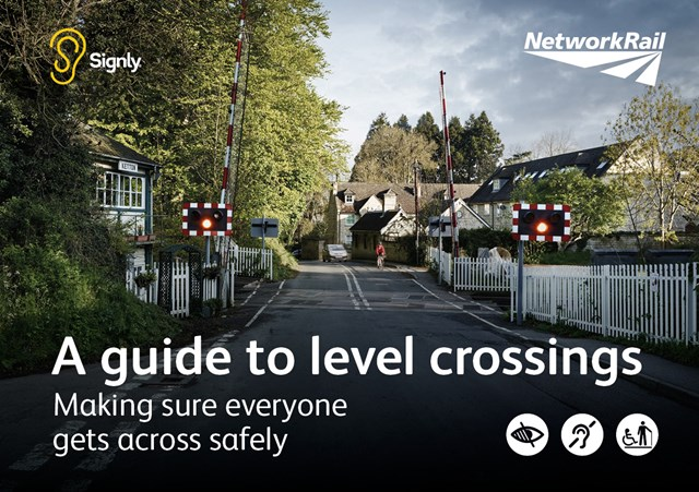 New app to help sign language users cross the railway safely: New app to help sign language users cross the railway safely: Everyone Across Safely user guide front sheet