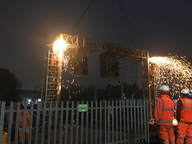 Railway reopens after successful Spring bank holiday upgrades are completed on time: Resignalling project Birmingham