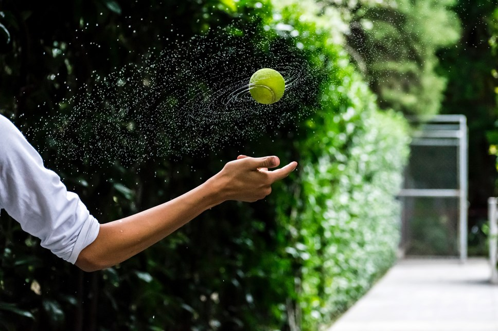 GoCompare tennis ball