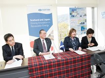 Fiona Hyslop with representatives from the Japan Trade Development Organisation (JETRO) 2