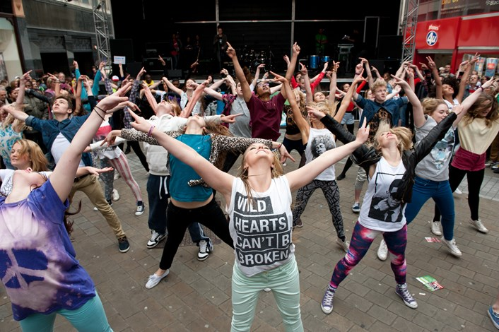 Annual youth arts festival 'Breezes' in to Leeds: photoforbackpage.jpg