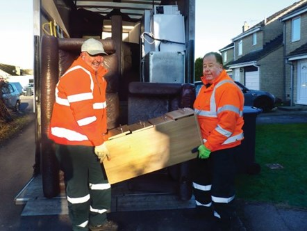 Full bulky waste collection service now available: Bulky waste