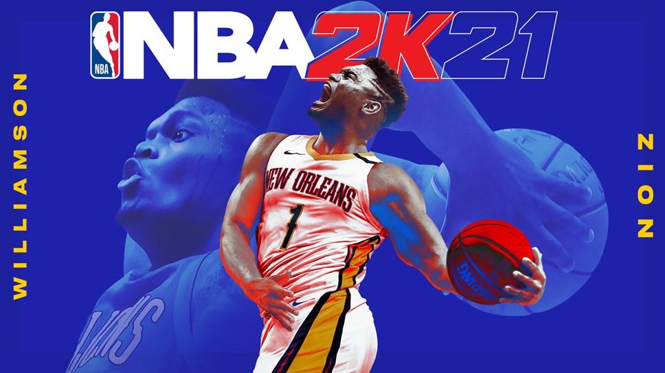 NBA 2K21 Zion Williamson Next-Gen Cover Horizontal NR