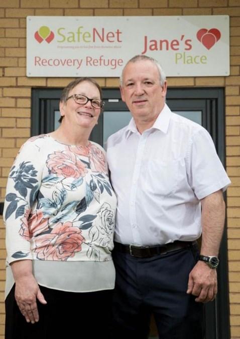 John and Penny Clough
