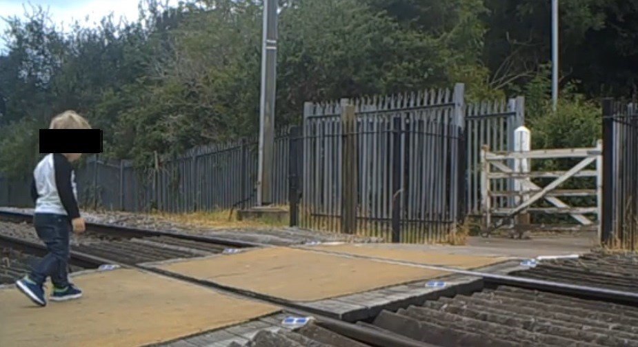 Two near misses in two weeks prompts level crossing safety push: Cotton Mill Lane 1